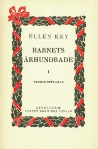 Cover for Barnets århundrade