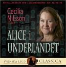 Bokomslag för Alice i underlandet (Ljudlagd med ljudeffekter)