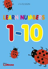 Cover for Learn numbers 1-10