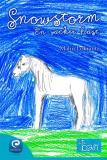 Omslagsbild för Snowstorm, en vacker häst