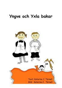 Omslagsbild för Yngve och Yxla bakar