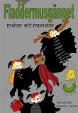Cover for Fladdermusgänget möter ett monster