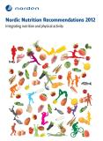 Cover for Nordic Nutrition Recommendations 2012