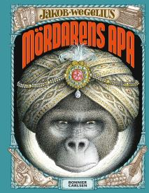 Cover for Mördarens apa