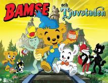 Omslagsbild för Bamse och Tjuvstaden