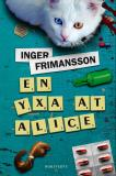 Cover for En yxa åt Alice