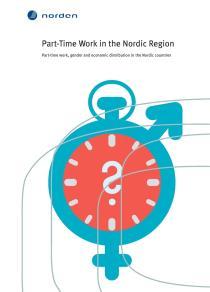Omslagsbild för Part-Time Work in the Nordic Region