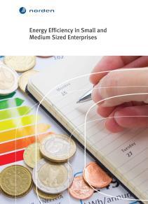 Omslagsbild för Energy Efficiency in Small and Medium Sized Enterprises