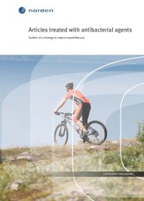 Omslagsbild för Articles treated with antibacterial agents