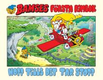 Omslagsbild för Bamses första rimbok