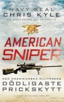 Omslagsbild för American Sniper : Den amerikanska militärens dödligaste prickskytt