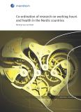 Omslagsbild för Co-ordination of research on working hours and health in the Nordic countries