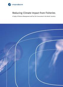Omslagsbild för Reducing Climate Impact from Fisheries