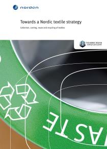 Omslagsbild för Towards a Nordic textile strategy
