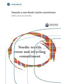 Omslagsbild för Towards a new Nordic textile commitment