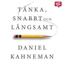 Cover for Tänka, snabbt och långsamt