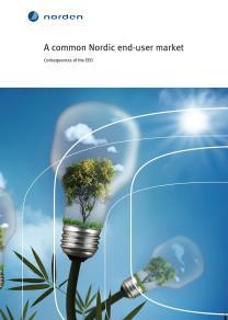 Omslagsbild för A common Nordic end-user market