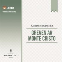 Omslagsbild för Greven av Monte Cristo