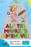 Omslagsbild för Alf the monkey's adventure