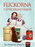 Bokomslag för Flickorna i speceriaffären