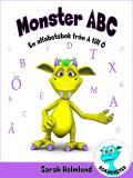 Omslagsbild för Monster ABC. En alfabetsbok från A till Ö