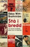 Bokomslag för Stå i bredd : 70-talets kvinnor, män och litteratur
