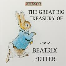 Omslagsbild för The Great Big Treasury of Beatrix Potter
