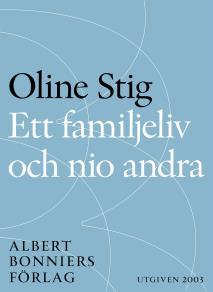 Omslagsbild för Ett familjeliv och nio andra : Noveller