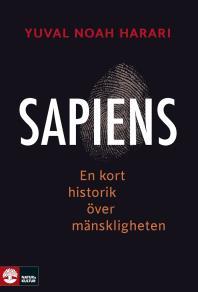 Omslagsbild för Sapiens : En kort historik över mänskligheten