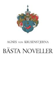 Cover for Bästa noveller