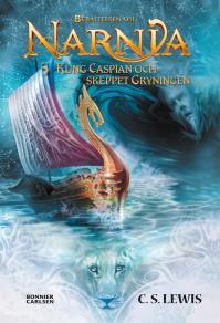 Cover for Kung Caspian och skeppet Gryningen