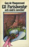 Cover for Ett Parisäventyr och andra noveller