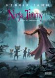 Bokomslag för Ninja Timmy och den vita apans hemlighet