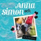 Bokomslag för Anna och Simon - Solresan