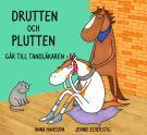 Bokomslag för Drutten och Plutten går till tandläkaren.