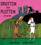 Bokomslag för Drutten och Plutten får besök.