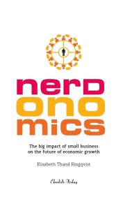 Cover for Nerdonomics - The big impact of small business on the future economic growth