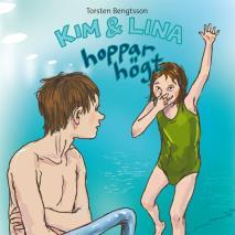 Omslagsbild för Kim & Lina hoppar högt