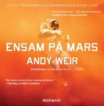 Omslagsbild för The Martian : Ensam på Mars