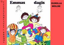 Cover for Emmas dagis - Barnbok med tecken för hörande barn