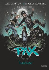 Omslagsbild för PAX. Bjäran