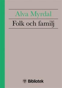 Omslagsbild för Folk och familj