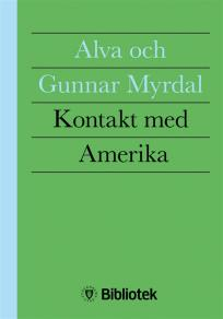 Cover for Kontakt med Amerika