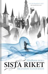 Cover for Mistborn. Sista riket