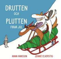 Omslagsbild för Drutten och Plutten firar jul.
