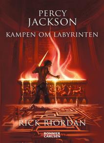 Omslagsbild för Percy Jackson: Kampen om Labyrinten