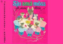 Cover for Sju små möss får varma kläder