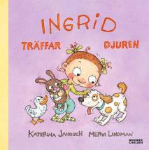 Omslagsbild för Ingrid träffar djuren