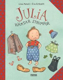 Cover for Julia hämtar strumpor