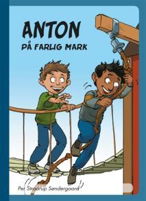 Omslagsbild för Anton på farlig mark